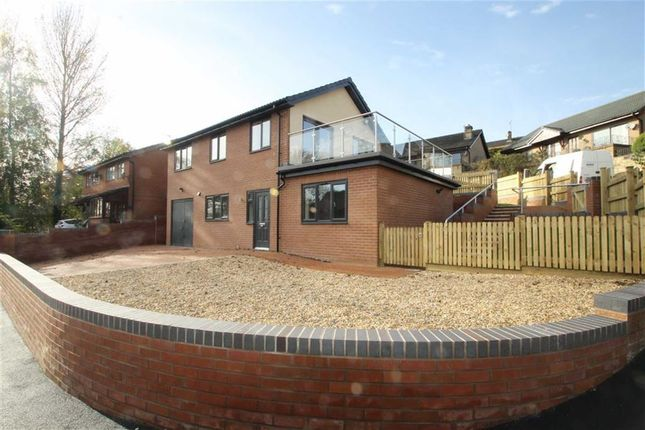 Thumbnail Detached house for sale in Croft Road, Welshpool
