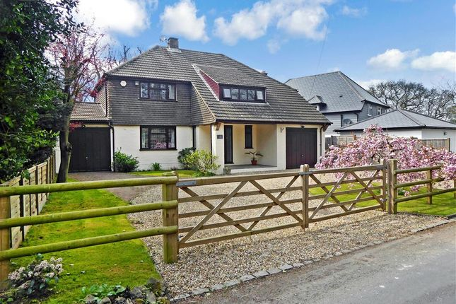 Thumbnail Detached house for sale in Warren Road, Bluebell Hill, Chatham, Kent