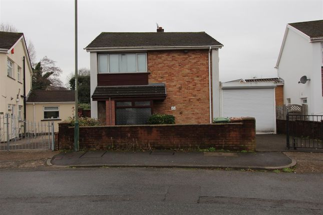 Thumbnail Detached house for sale in Porset Drive, Caerphilly