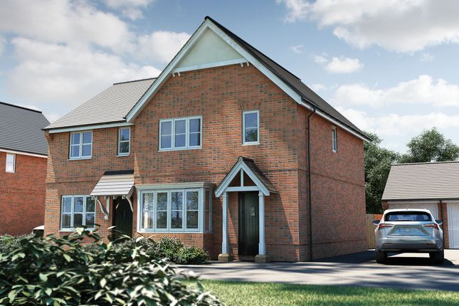 "Thumbnail Detached house for sale in ""The Yarkhill"" at Roman Road, Bobblestock, Hereford"
