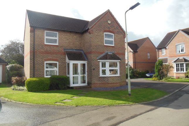 Thumbnail Detached house to rent in Naseby Rise, Newbury