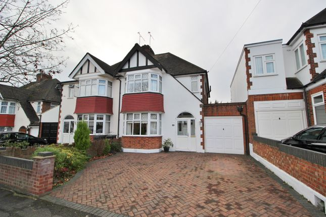 Thumbnail Semi-detached house for sale in Harwater Drive, Loughton