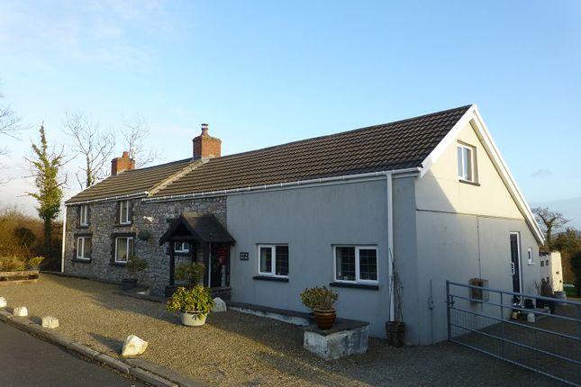 Thumbnail Detached house for sale in Heol Ddu, Ammanford, Carmarthenshire.