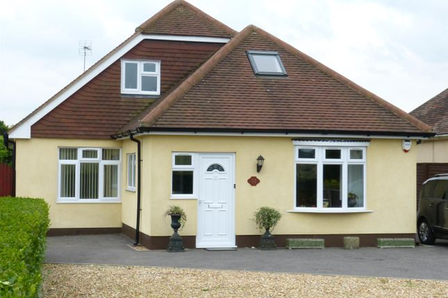 Thumbnail Detached bungalow for sale in Chalton Lane, Clanfield, Hampshire