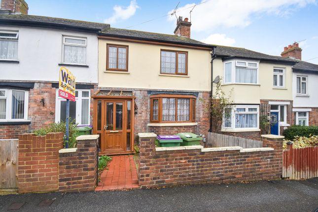 Thumbnail Terraced house for sale in Dawson Road, Folkestone