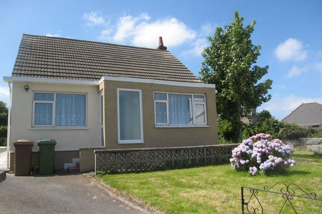 Thumbnail Detached bungalow to rent in Villiers Close, Plymstock, Plymouth, Devon