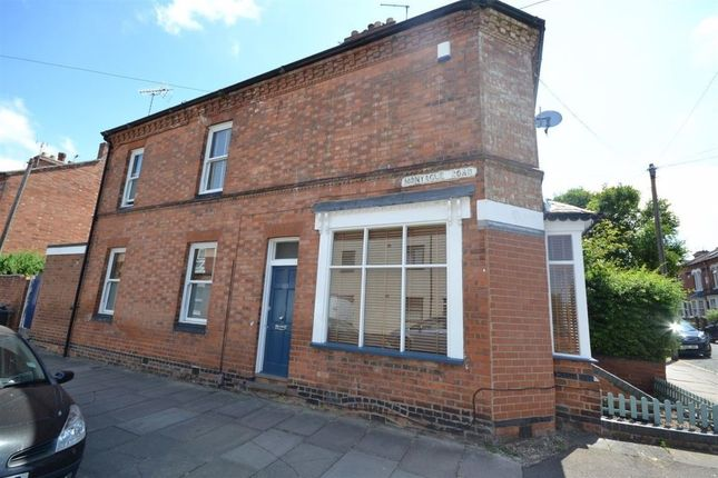 Thumbnail Terraced house to rent in Montague Road, Clarendon Park, Leicester