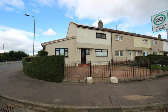 Thumbnail End terrace house for sale in Dosk Avenue, Knightswood, Glasgow