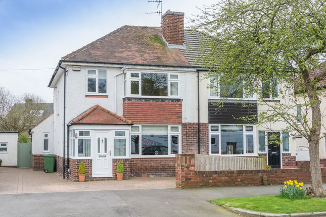 Thumbnail Semi-detached house for sale in The Meadway, Dore