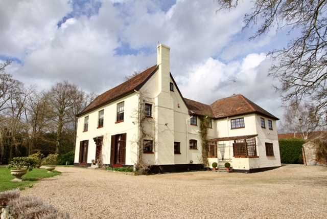 Thumbnail Detached house for sale in Little Blakenham, Ipswich, Suffolk