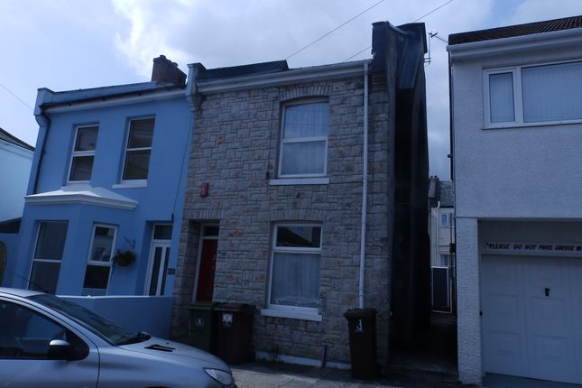 Thumbnail Semi-detached house to rent in Bromley Place, Stoke, Plymouth