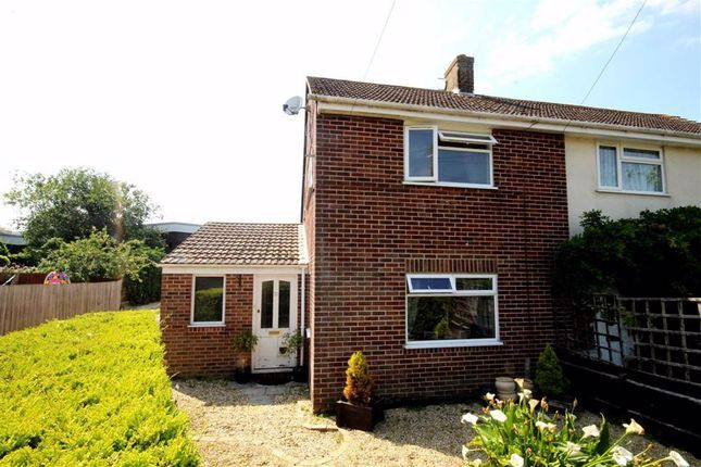 Thumbnail End terrace house for sale in Canberra Crescent, Weymouth, Dorset