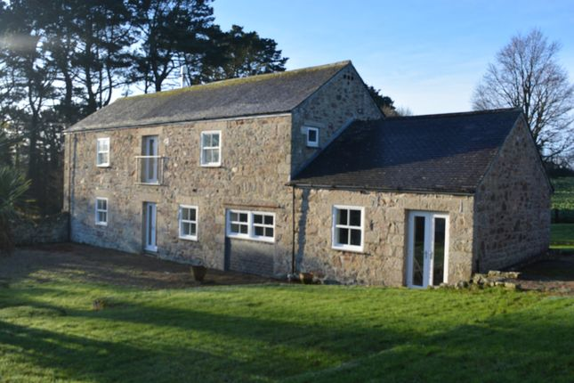 Thumbnail Barn conversion for sale in Crowlas, Penzance
