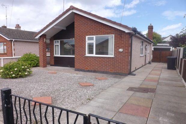 Thumbnail Detached bungalow to rent in The Meadows, Prestatyn