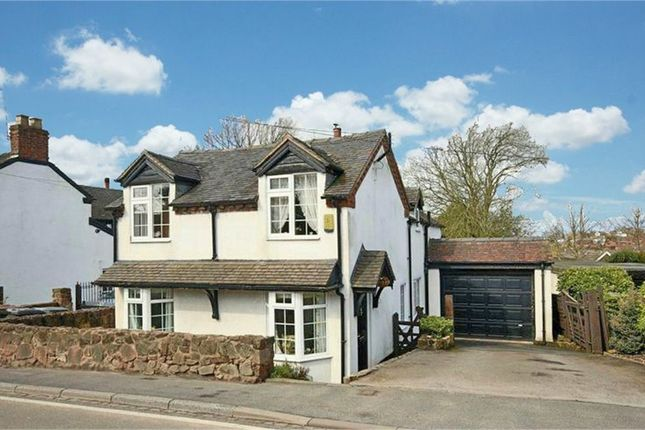 Thumbnail Detached house for sale in The Old Post Office, Newcastle Road, Loggerheads, Market Drayton, Staffordshire