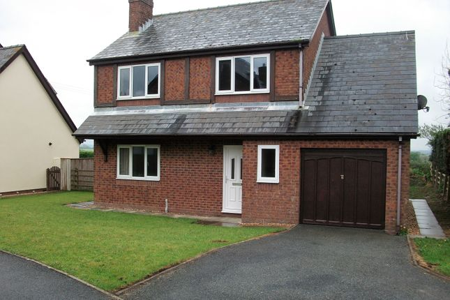 Thumbnail Detached house to rent in Tudor Gardens, Haverfordwest