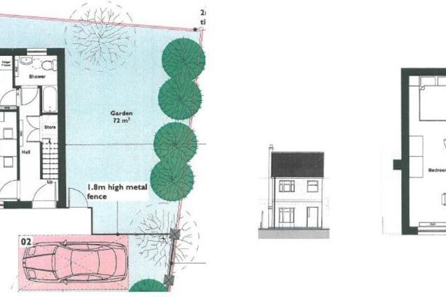 Thumbnail Land for sale in Woodland Road, Hinckley