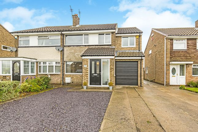 Thumbnail Semi-detached house for sale in Widecombe Walk, Ferryhill