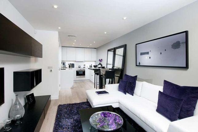 Thumbnail Flat for sale in 3 Bed Block F Saffron Tower, Saffron Square, Croydon