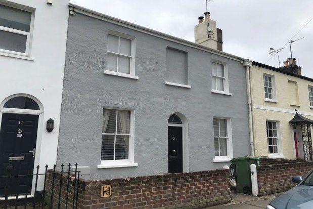 Thumbnail Terraced house to rent in Windsor Street, Cheltenham