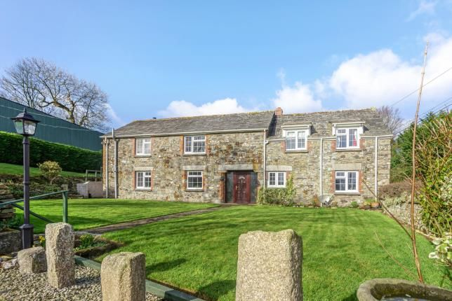Thumbnail Barn conversion for sale in St. Teath, Bodmin, Cornwall