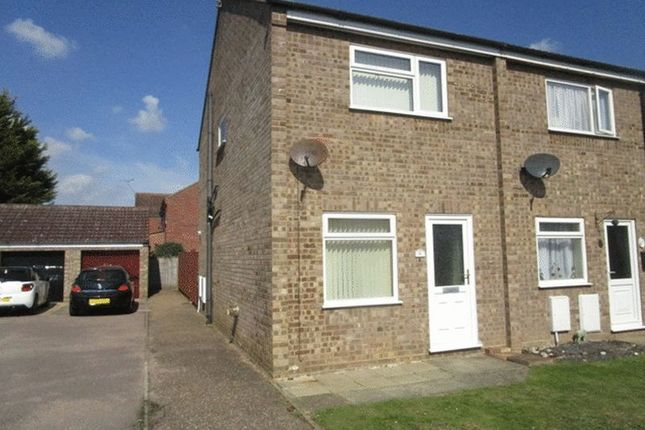 Thumbnail End terrace house to rent in Zurich Close, Hopton, Great Yarmouth