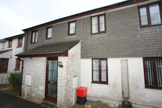 2 bed terraced house to rent in Barton Road, Central Treviscoe, St Austell, Cornwall PL26