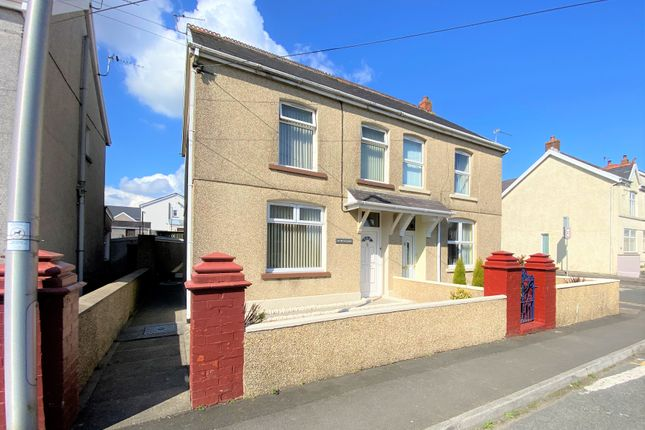 3 bed semi-detached house for sale in Waterloo Road, Penygroes, Llanelli SA14
