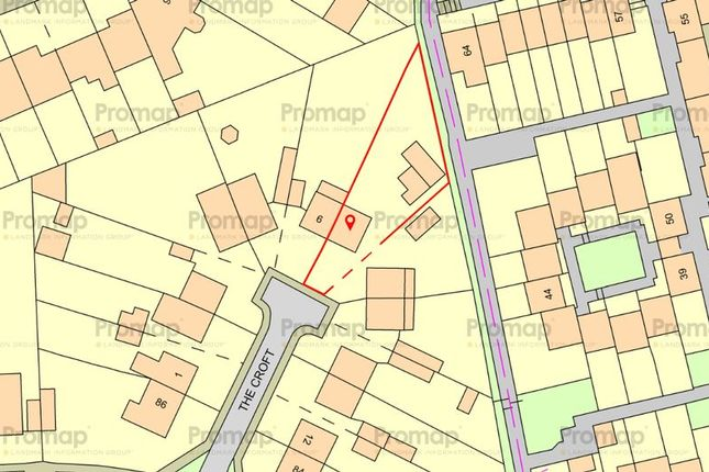 Thumbnail Land for sale in The Croft, Luton