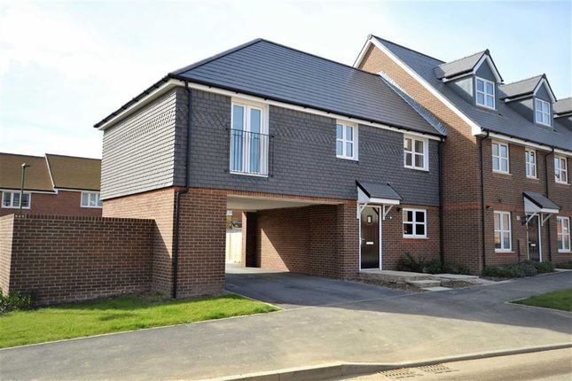 Thumbnail Maisonette for sale in Cornfield Way, Worthing, West Sussex