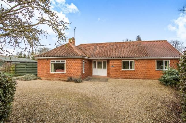 Thumbnail Bungalow for sale in North Elmham, East Dereham, Norfolk