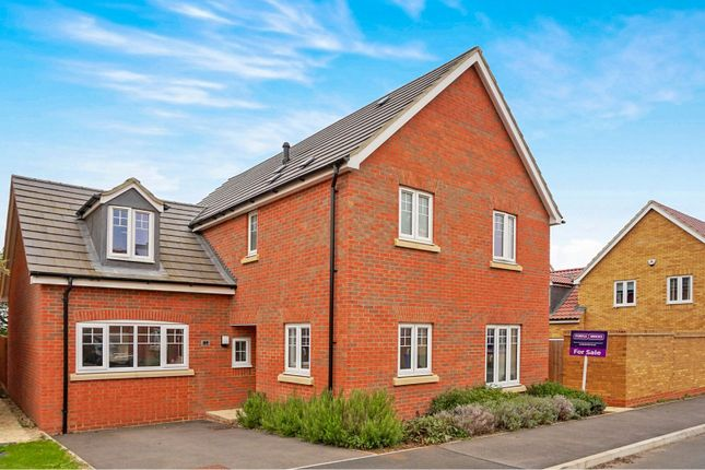 Thumbnail Detached house for sale in Virginia Crescent, Burton Latimer, Kettering