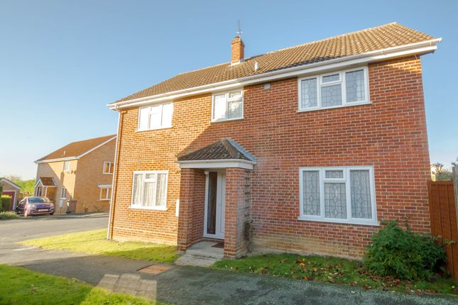 Thumbnail Detached house for sale in Cross Close, Haverhill