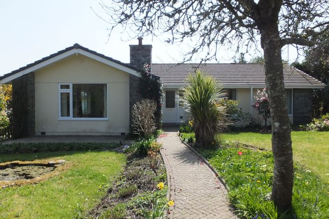 Thumbnail Detached bungalow to rent in Four Winds, Gunnislake