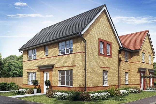 "Thumbnail Detached house for sale in ""Ennerdale"" at Ponds Court Business, Genesis Way, Consett"