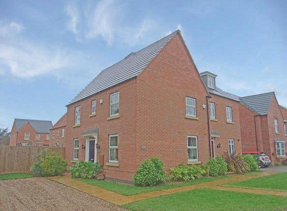 Thumbnail Semi-detached house for sale in Loddington Close, Syston