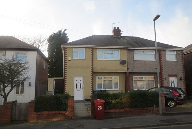 Thumbnail Semi-detached house to rent in Poplar Grove, Whiston, Prescot