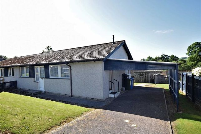 Thumbnail Semi-detached bungalow for sale in Neil Gunn Place, Dingwall, Ross-Shire