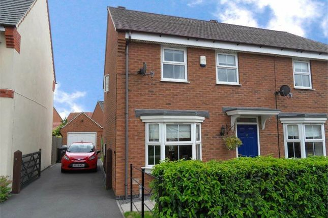 Thumbnail Semi-detached house to rent in Longstork Road, Coton Meadows, Rugby