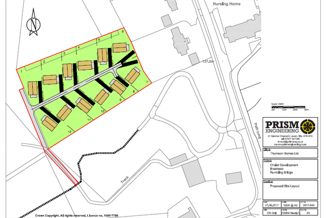 Land for sale in Hill View Lodges, Rumblingbridge