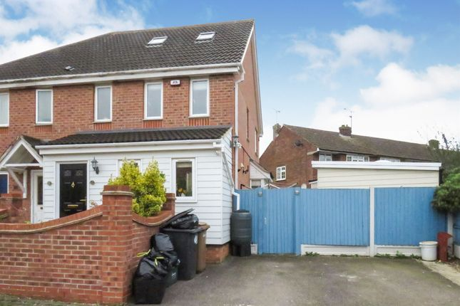 Thumbnail Semi-detached house for sale in Lister Tye, Chelmsford