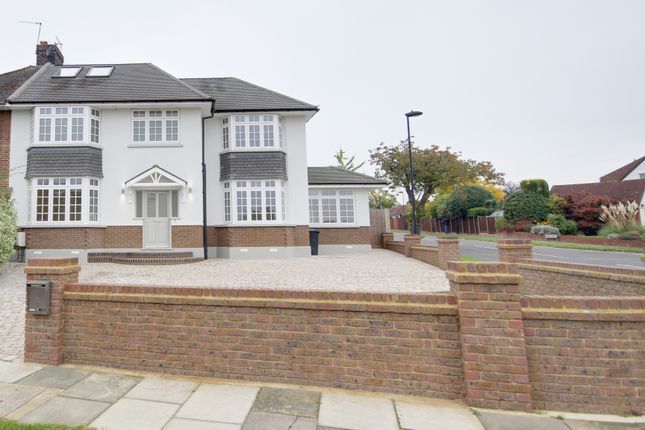 Thumbnail Semi-detached house for sale in Onslow Gardens, Grange Park