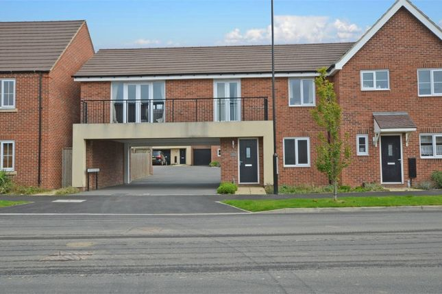 Thumbnail Flat for sale in Lower Lodge Avenue, Eden Park, Rugby, Warwickshire