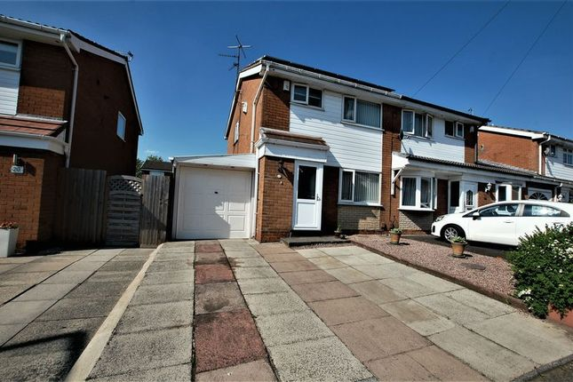 Thumbnail Semi-detached house for sale in Hereford Crescent, Little Lever, Bolton