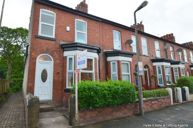 Thumbnail Terraced house to rent in Heywood Road, Sale
