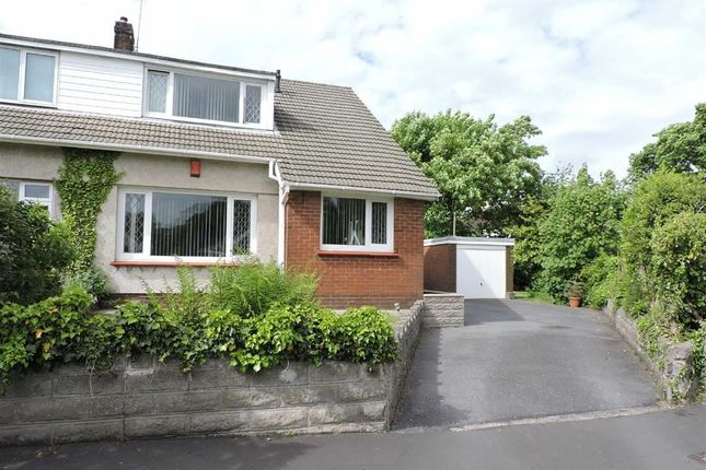 Thumbnail Semi-detached bungalow for sale in Enfield Close, Cwmrhydyceirw, Swansea