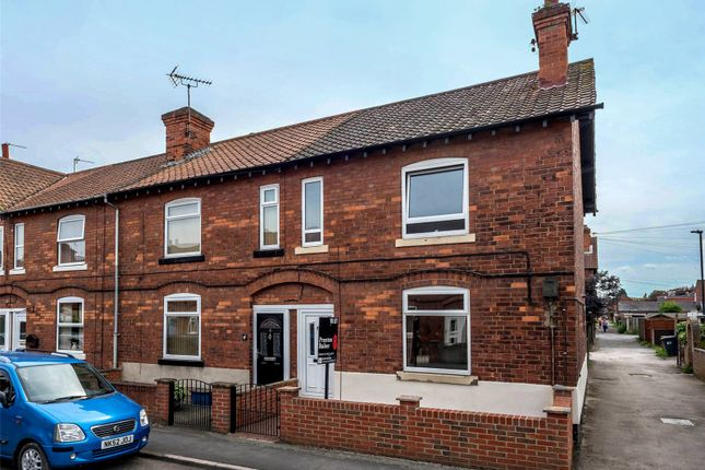 Thumbnail End terrace house to rent in Recreation Road, Selby, North Yorkshire