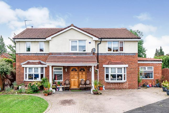 Thumbnail Detached house for sale in Saltire Gardens, Salford, Greater Manchester