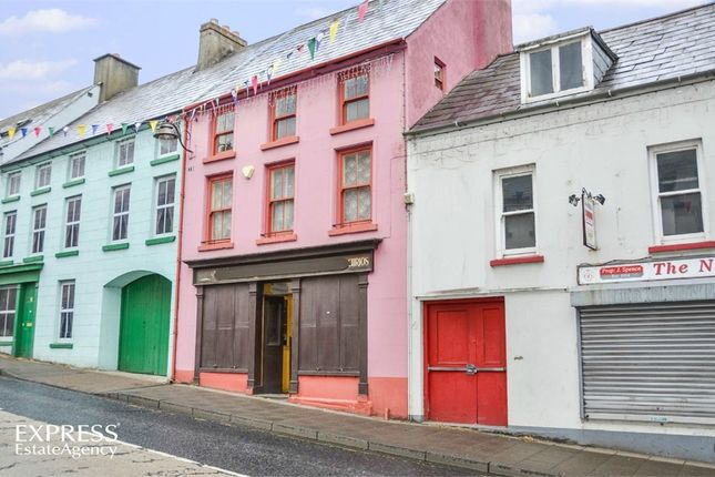 Thumbnail Terraced house for sale in Castle Street, Ballycastle, County Antrim