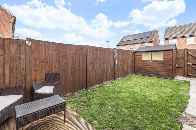 Rear Garden of Kings Manor, Coningsby, Lincoln LN4